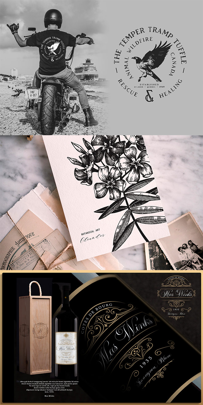 preview 1 - Master the Vintage Design Style with $2014 worth of Resources for Just $29