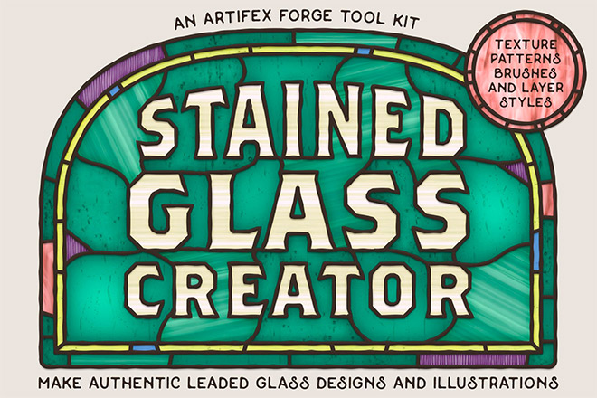 stained glass creator - How to Create a Stained Glass Window Effect