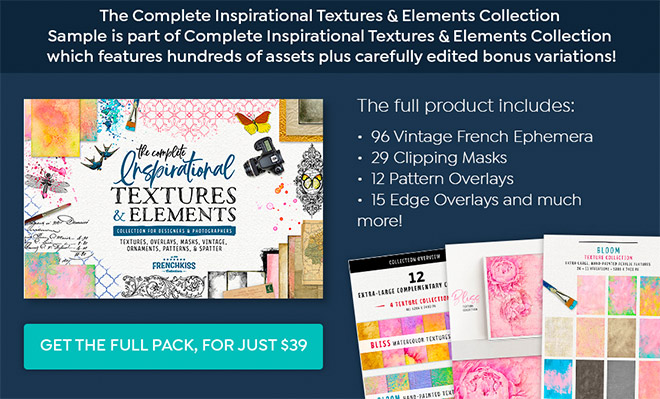 Complete Inspirational Textures & Elements Collection