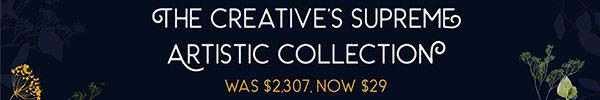 This Versatile Bundle of Artistic Design Resources is Just $29