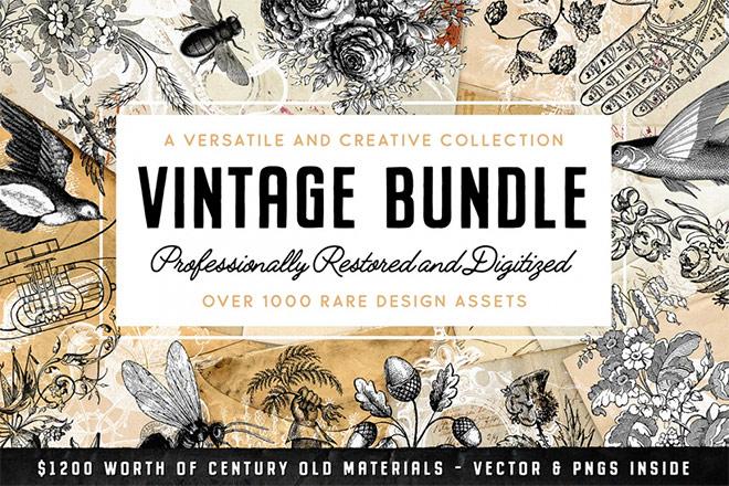 The Vintage Graphics Design Pack