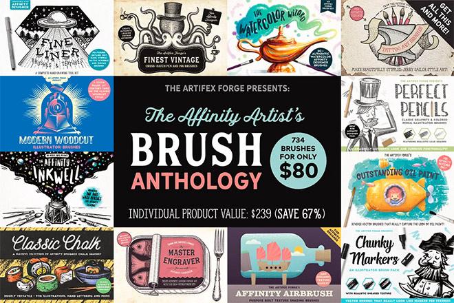 The Affinity Artists Brush Anthology