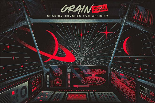 Grain Volume II Affinity Brushes