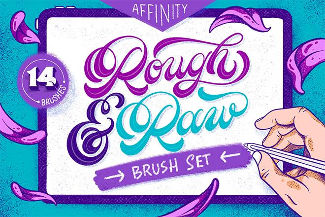 Rough & Raw – Affinity Brushes