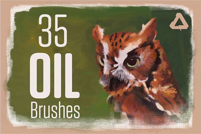 Oil Painting Brushes For Affinity