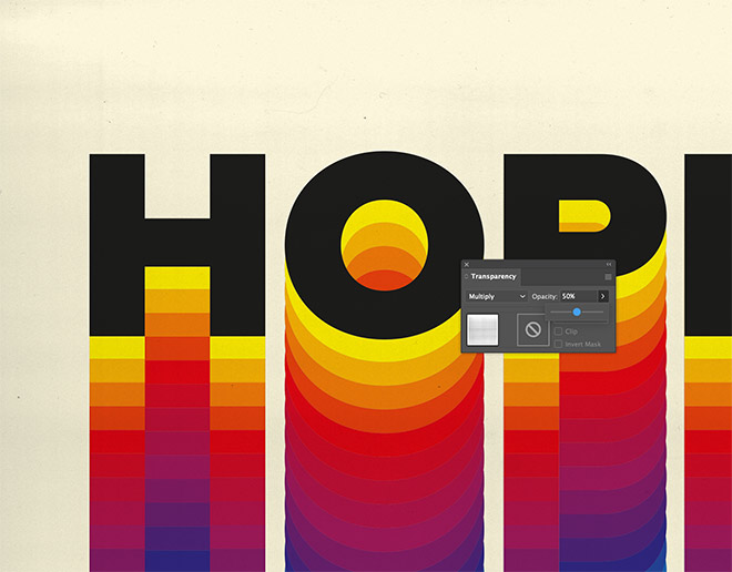 29 - How to Create a Colorful Retro-Style 'Rainbow' Text Effect in Adobe Illustrator