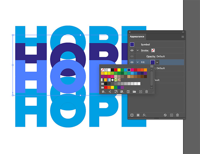 9 - How to Create a Colorful Retro-Style 'Rainbow' Text Effect in Adobe Illustrator
