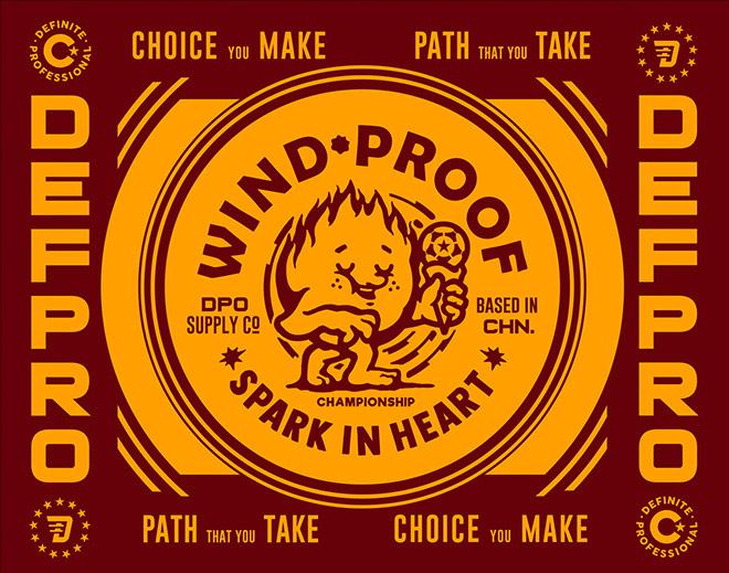 WINDPROOF by Monkey BEN