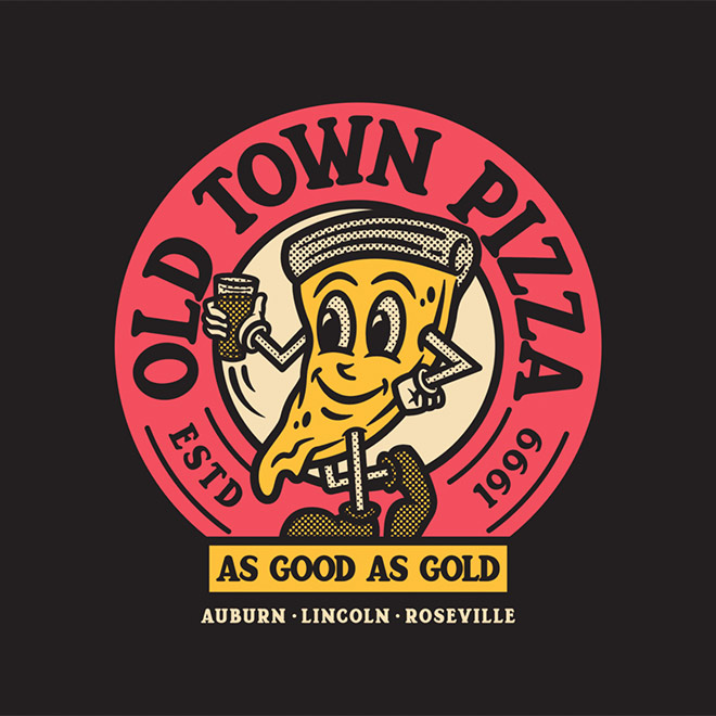 Old Town Pizza by Brethren Design Co