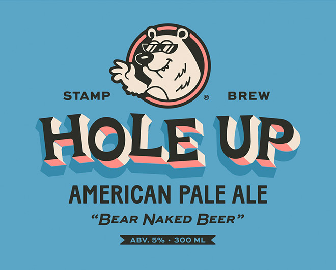 Hole Up! American Pale Ale by Luke Harrison