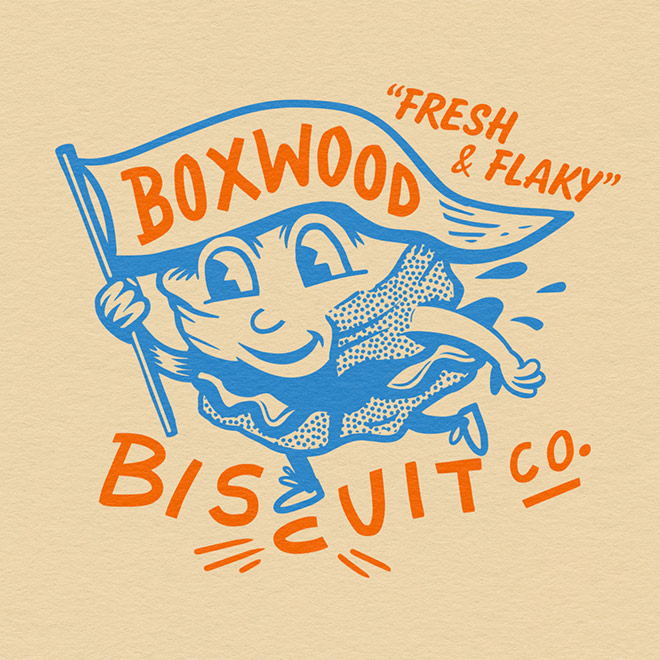 Boxwood Biscuits by Greg Davis