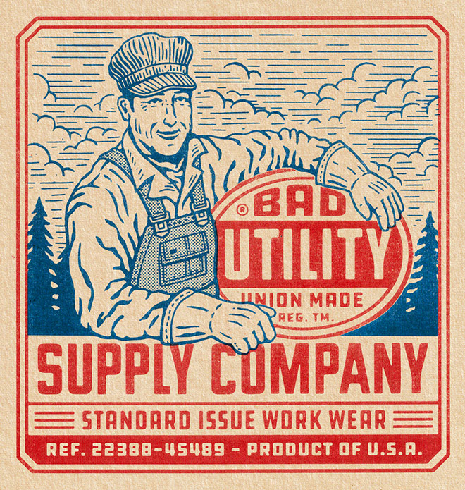 BadUtility Workwear by Travis Pietsch
