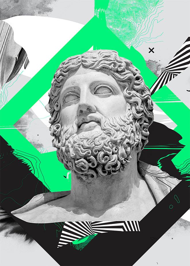 Greenada Posters by Alexandre Guimaraes