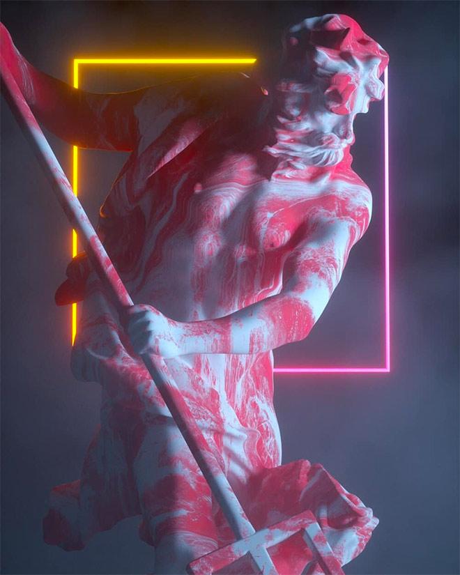 Poseidon by VFXFreek