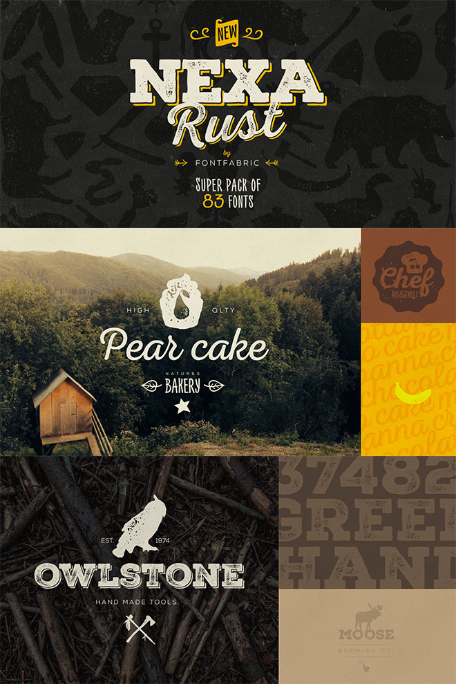 The Nexa Rust Collection