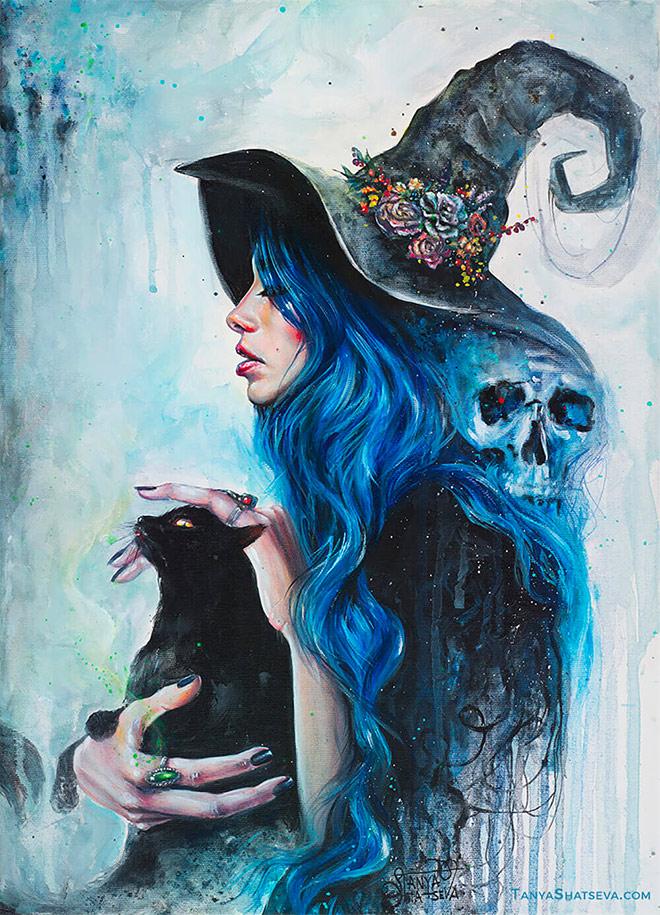 Blue Valentine by Tanya Shatseva