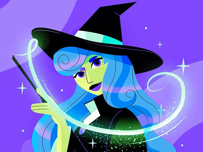 Witch by Daniela Jimenez