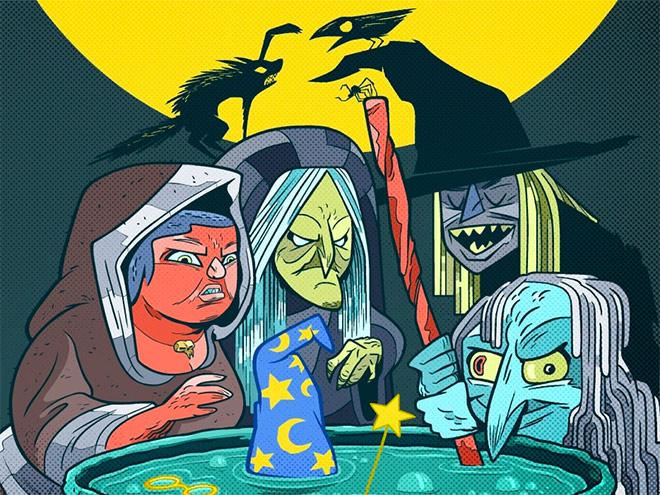 Witches by Rick Pinchera