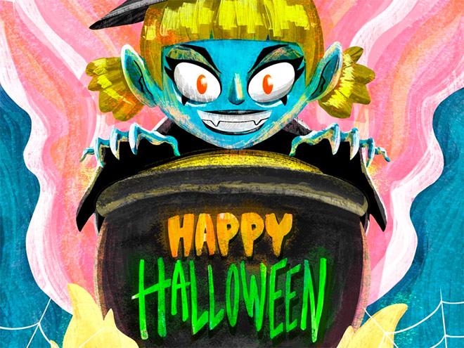 Happy Halloween by Ruben Lara