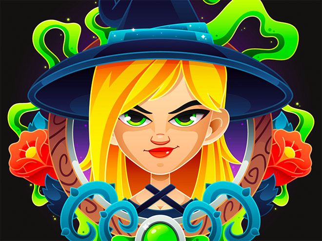Witchy Witch by Craig Seagreen