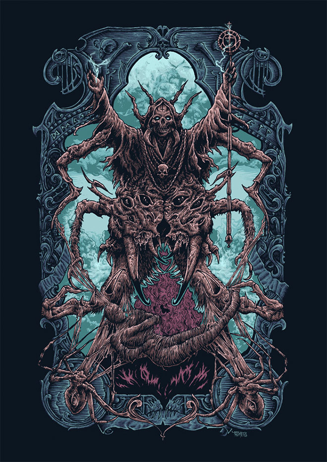 Cephalothorax Witch by Moron Fathers