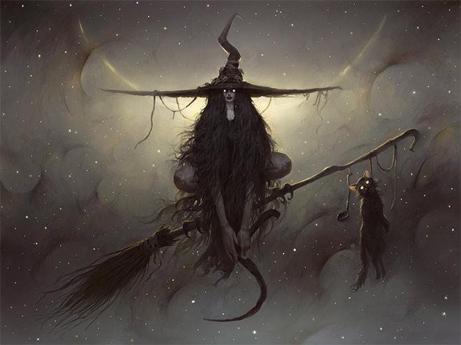 Witch by Bogdan Rezunenko