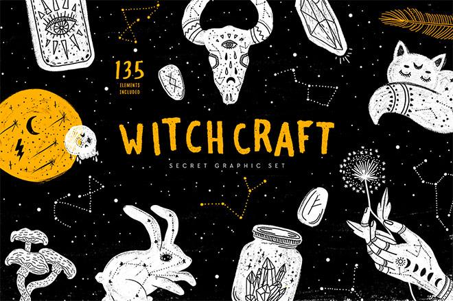 Witchcraft Secret Graphic Set