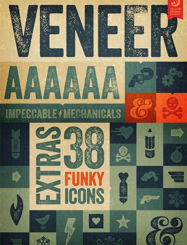 Veneer font preview