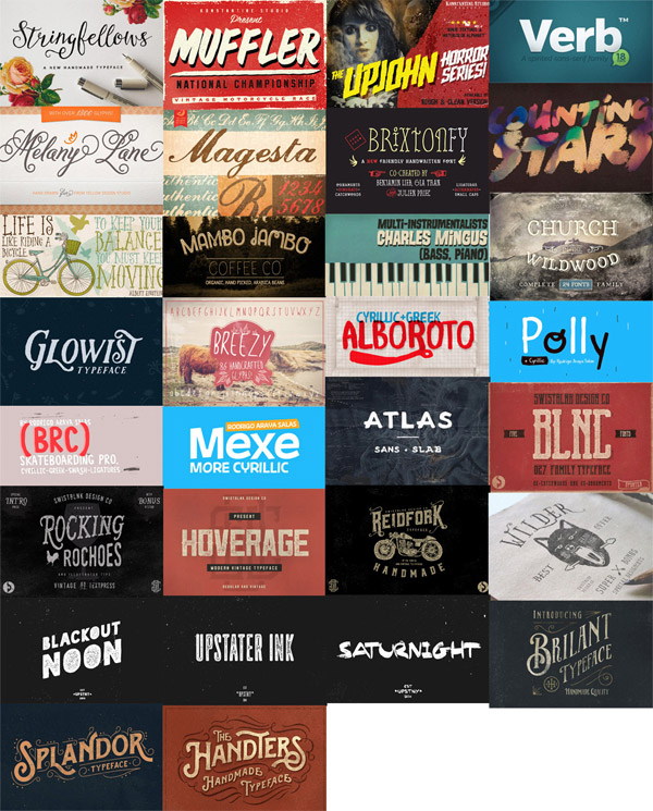 Creative Fonts Bundle