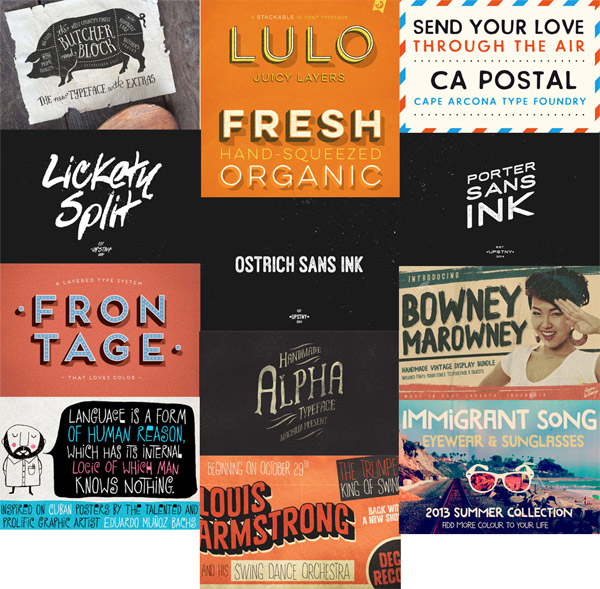 Inspirational Fonts Bundle