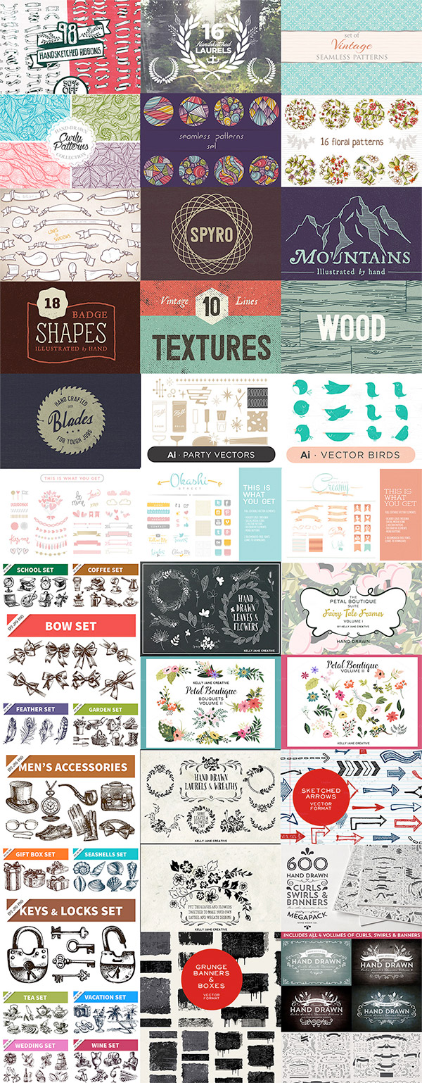 The Gigantic Vector Elements Bundle