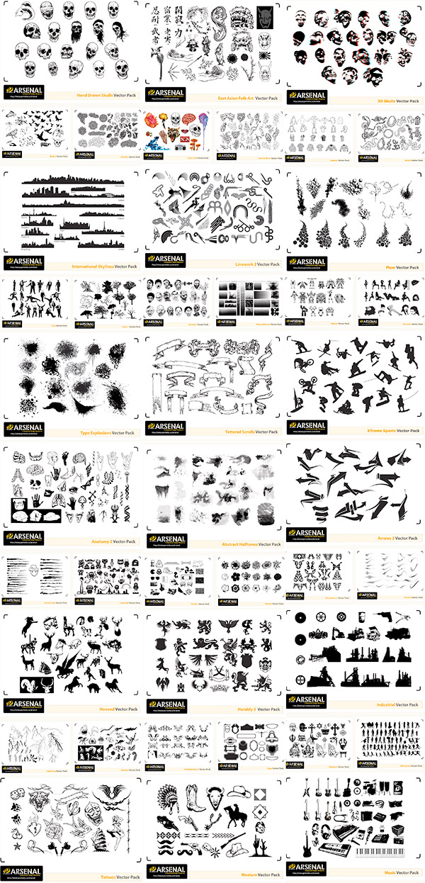 Go Media's Ultimate Vector Collection