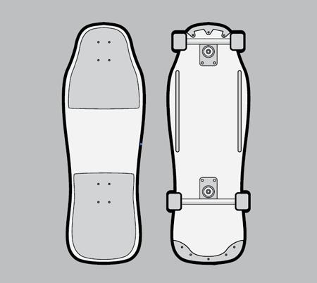 Vector skatebord